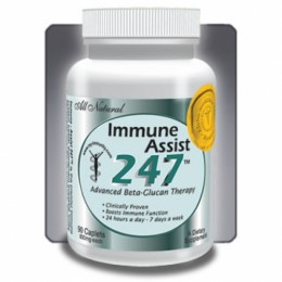 Immune-Assist 247™ - confezioni da 90 compresse da 800 mg di principi attivi.