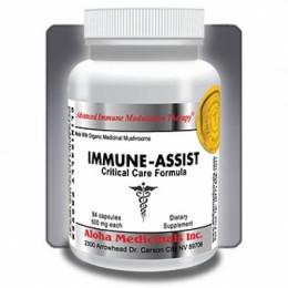 Immune-Assist Critical Care Formula™ - confezioni da 84 capsule da 596 mg di principi attivi.